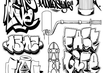 Flash Graff fait par Wan