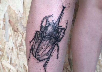 Sacha Made with love La Cour Des Miracles Tatouage Tattoo Piercing Recouvrement Cover Toulouse Paris 4eme