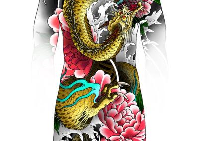 Flash projet dispo bodysuit irezumi fait par Wan