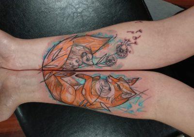 Loreen La Cour Des Miracles Tatouage Tattoo Piercing Recouvrement Cover Toulouse Paris 4eme