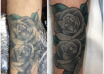 Tattoo Cover fait par Brice