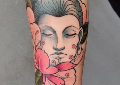 Tatouage Bouddha fait par Kevin