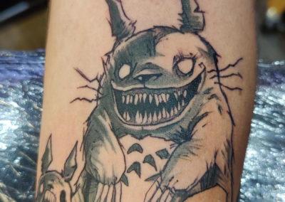 Tattoo Manga fait par Kevin