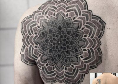 Tattoo Cover fait par Julien