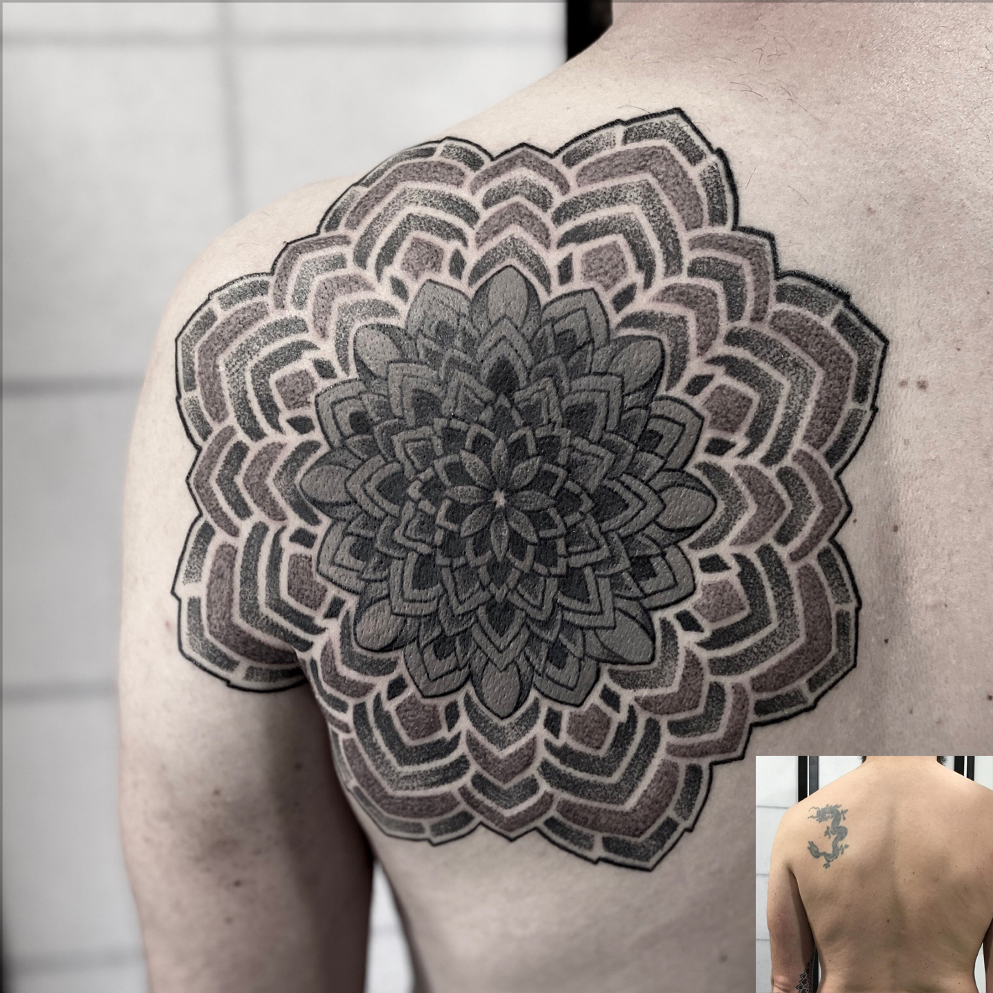 Tattoo Cover fait par Julien